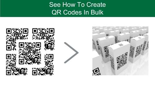 how to generate QR Codes in bulk: QR Codes in large numbers