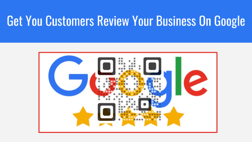 qr code google review: image