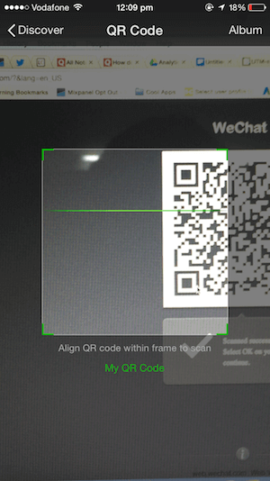 WeChat Web QR Code: How to login on your computer using your phone