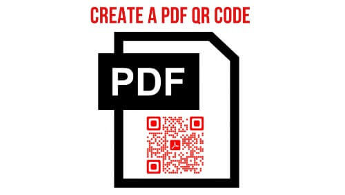 How to create a QR Code for a PDF image