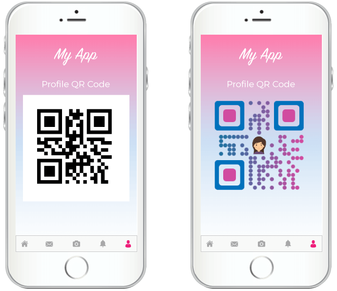 qr code sdk custom design