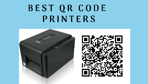 qr code printer- cover