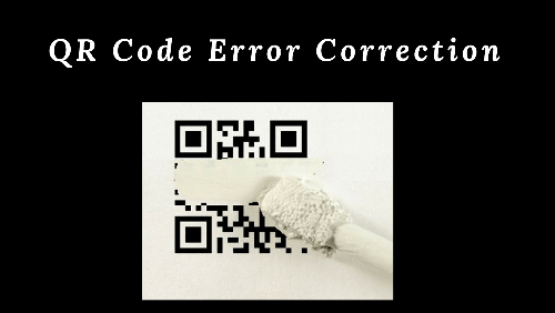 QR Code error correction
