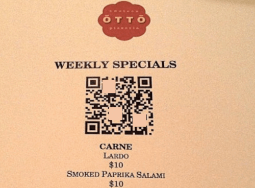 how to use qr codes: restaurant qr code
