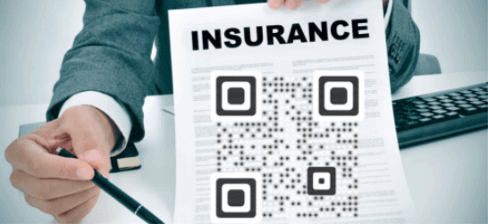 how to use qr codes: insurance