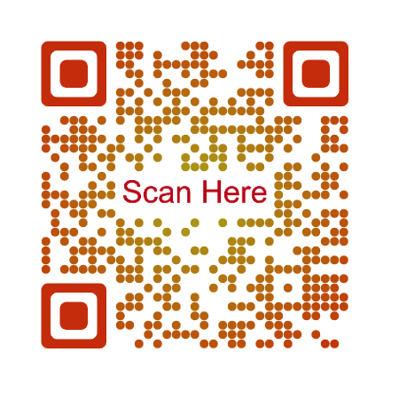 how to make a custom QR Code: Text as logo