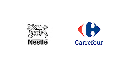 Nestle and Carrefour track mashed potato: logo