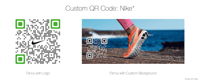 what is a qr code custom design nike