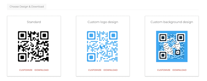 Website QR Code: design and download