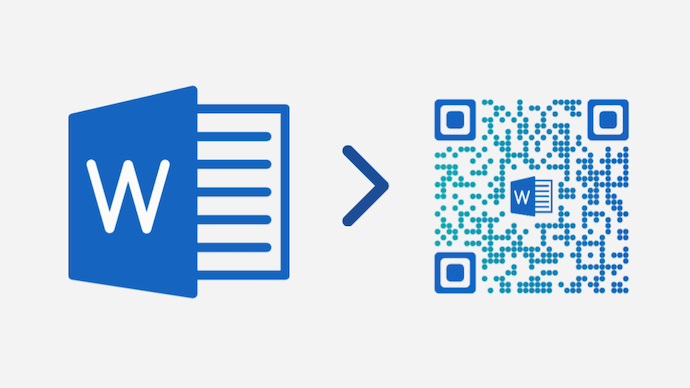 Word document into QR Code