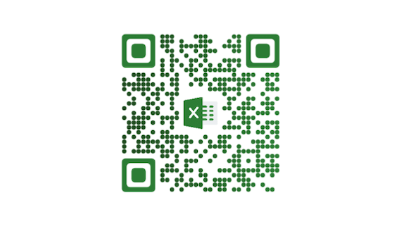 A QR Code for Excel file